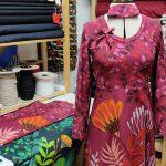 Kleid aus Baumwolljersey